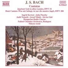 Johann Sebastian Bach (1685-1750): Kantaten BWV 51 & 208, CD