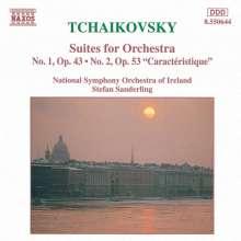 Peter Iljitsch Tschaikowsky (1840-1893): Suiten Nr.1 & 2, CD