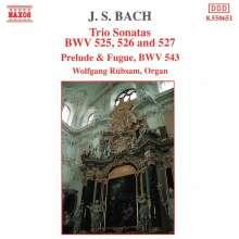 Johann Sebastian Bach (1685-1750): Triosonaten BWV 525-527, CD
