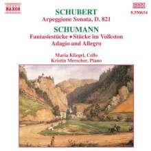 Franz Schubert (1797-1828): Arpeggione-Sonate D.821, CD