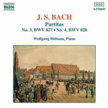 Johann Sebastian Bach (1685-1750): Partiten BWV 827 & 828, CD