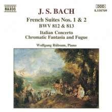 Johann Sebastian Bach (1685-1750): Französische Suiten BWV 812 & 813, CD