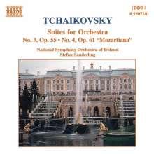 Peter Iljitsch Tschaikowsky (1840-1893): Suiten Nr.3 & 4, CD
