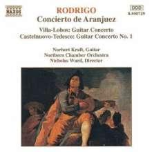 Norbert Kraft spielt Gitarrenkonzerte, CD