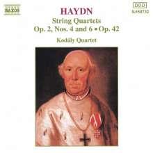 Joseph Haydn (1732-1809): Streichquartette Nr.10,12,43, CD