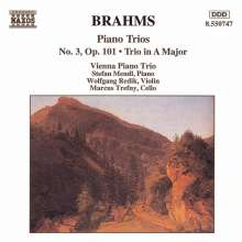 Johannes Brahms (1833-1897): Klaviertrios Nr.3 & 4, CD