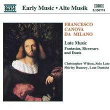 Francesco da Milano (1497-1543): Lautenwerke, CD