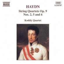 Joseph Haydn (1732-1809): Streichquartette Nr.20,23,24 (op.9 Nr.2,5,6), CD