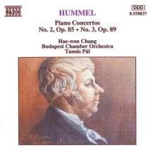 Johann Nepomuk Hummel (1778-1837): Klavierkonzerte op.85 & op.89, CD