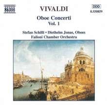 Antonio Vivaldi (1678-1741): Oboenkonzerte RV 450,452-454, CD