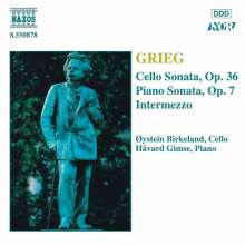 Edvard Grieg (1843-1907): Sonate f.Cello & Klavier op.36, CD