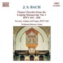 Johann Sebastian Bach (1685-1750): Choräle BWV 651-658, CD