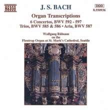 Johann Sebastian Bach (1685-1750): Konzerte f.Orgel BWV 592-597, CD