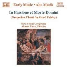 In Passione et Morte Domini, CD