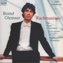 Sergej Rachmaninoff (1873-1943): Klavierkonzerte Nr.1-4, 2 CDs