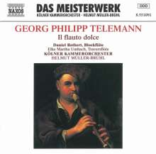 Georg Philipp Telemann (1681-1767): Blockflötenkonzerte in C & F, CD