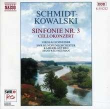 Thomas Schmidt-Kowalski (1949-2013): Symphonie Nr.3 d-moll op.67, CD