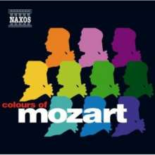 "Wolfgang Amadeus Mozart (1756-1791): Sampler ""Colours of Mozart"" zur Naxos Mozart-Edition, CD"
