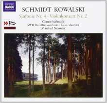 Thomas Schmidt-Kowalski (1949-2013): Symphonie Nr.4 C-Dur op.96, CD