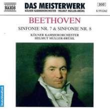 Ludwig van Beethoven (1770-1827): Symphonien Nr.7 & 8, CD