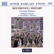 Ludwig van Beethoven (1770-1827): Mödlinger Tänze WoO 17 Nr.1-11, 2 CDs