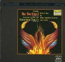Igor Strawinsky (1882-1971): Der Feuervogel (Ultra-HD-CD), CD