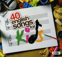 40 English Songs For Kids, 2 CDs