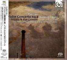 Bohuslav Martinu (1890-1959): Violinkonzert Nr.2, SACD