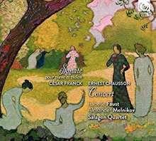 Ernest Chausson (1855-1899): Konzert für Klavier,Violine & Streichquartett op.21, SACD