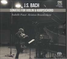 Johann Sebastian Bach (1685-1750): Sonaten für Violine & Cembalo BWV 1014-1019, SACD