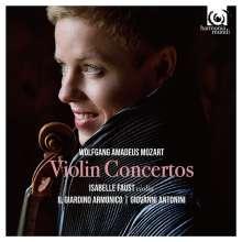Wolfgang Amadeus Mozart (1756-1791): Violinkonzerte Nr.1-5 (180g), 3 LPs