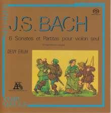 Johann Sebastian Bach (1685-1750): Sonaten & Partiten für Violine BWV 1001-1006, Super Audio CD Non-Hybrid