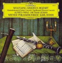 Wolfgang Amadeus Mozart (1756-1791): Klarinettenkonzert KV 622 (120g), LP