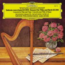 Wolfgang Amadeus Mozart (1756-1791): Konzert für Flöte & Harfe KV 299 (120g), LP