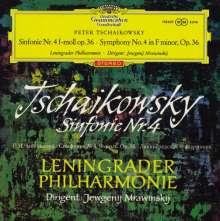 Peter Iljitsch Tschaikowsky (1840-1893): Symphonie Nr.4 (180g), LP