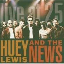 Huey Lewis & The News: Live At 25, CD