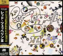 Led Zeppelin: Led Zeppelin III (SHM-CD), CD