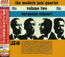 The Modern Jazz Quartet: European Concert 2, CD