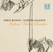 Fabio Biondi - Italian Violin Sonatas, CD