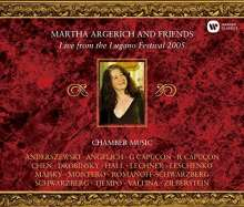 Martha Argerich & Friends - Live from Lugano Festival 2005, 3 CDs