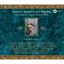 Martha Argerich & Friends - Live from Lugano Festival 2008, 3 CDs