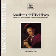 Frans Brüggen - Musik mit drei Blockflöten, CD