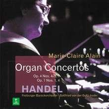 Georg Friedrich Händel (1685-1759): Orgelkonzerte Nr.1,2,4,7,10, CD