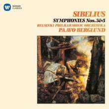 Jean Sibelius (1865-1957): Symphonien Nr.3 & 5, CD