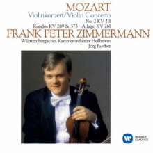Wolfgang Amadeus Mozart (1756-1791): Violinkonzert Nr.2 D-dur KV 211, CD
