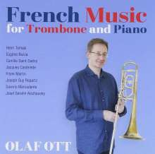 Olaf Ott - French Music for Trombone and Piano, CD