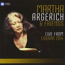 Martha Argerich & Friends - Live from Lugano Festival 2014, 3 CDs