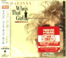 Madonna: WHO`S THAT GIRL ORIGINAL MOTION PICTURE SOUNDTRACK (reissue), CD