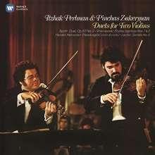 Itzhak Perlman & Pinchas Zukerman, CD