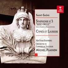 """Camille Saint-Saens (1835-1921): Symphonie Nr.3 """"Orgelsymphonie"""", 2 CDs"""